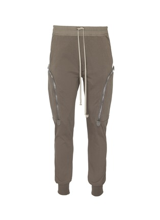 Main View - Click To Enlarge - RICK OWENS - Cargo track pants