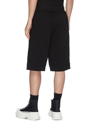 Back View - Click To Enlarge - RICK OWENS - 'Karloff' drawstring boxer shorts