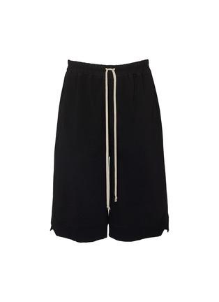 Main View - Click To Enlarge - RICK OWENS - 'Karloff' drawstring boxer shorts