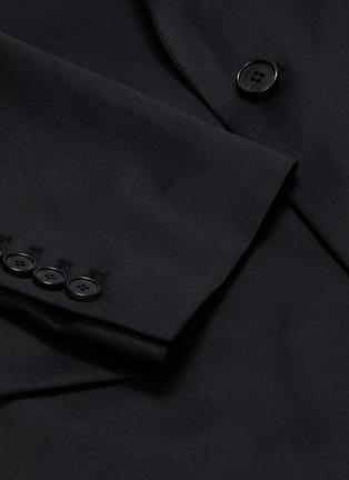- JUUN.J - Peak lapel wool blazer