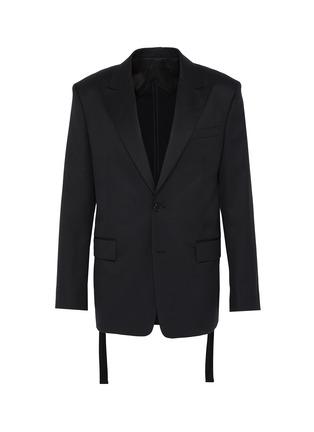 Main View - Click To Enlarge - JUUN.J - Peak lapel wool blazer