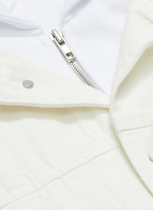 - JUUN.J - Hooded denim jacket