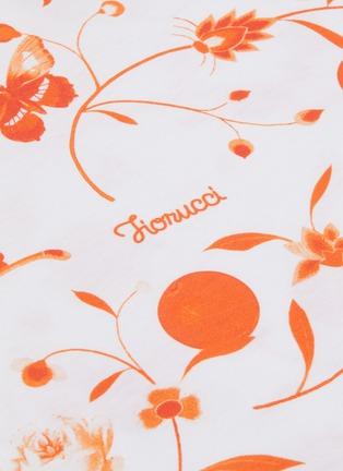 - FIORUCCI - Floral Print Crop T-shirt