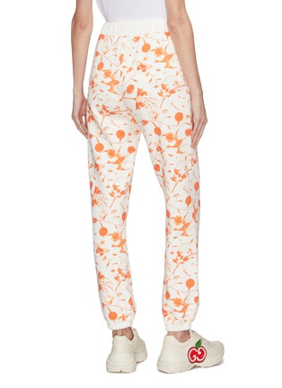 Back View - Click To Enlarge - FIORUCCI - Floral print jogging pants