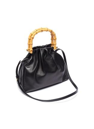 Detail View - Click To Enlarge - MIU MIU - Bamboo Handle Small Satchel Bag