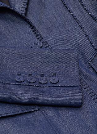 - GABRIELA HEARST - Minos' thread embroidery blazer