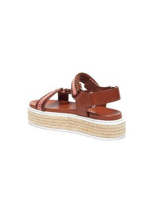 - PRADA - Flat platform espadrille sandals