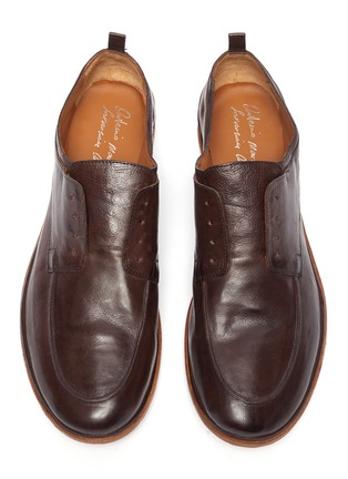 Detail View - Click To Enlarge - ANTONIO MAURIZI - 'Todi' laceless derby shoes