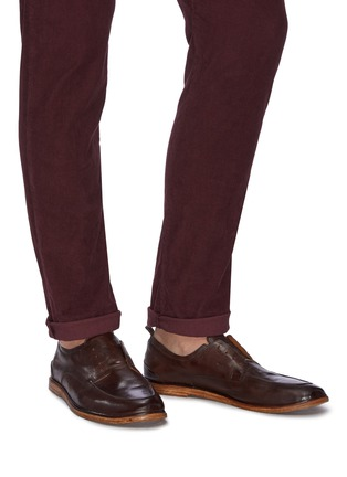 Figure View - Click To Enlarge - ANTONIO MAURIZI - 'Todi' laceless derby shoes