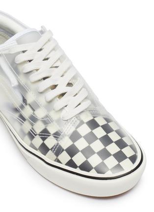 Detail View - Click To Enlarge - VANS - 'ComfyCush Slip-Skool' checkerboard sneakers