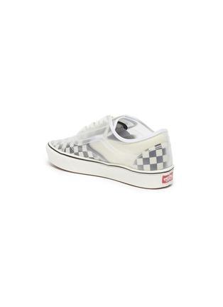 - VANS - 'ComfyCush Slip-Skool' checkerboard sneakers