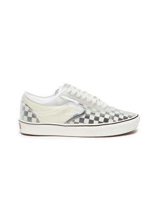 Main View - Click To Enlarge - VANS - 'ComfyCush Slip-Skool' checkerboard sneakers