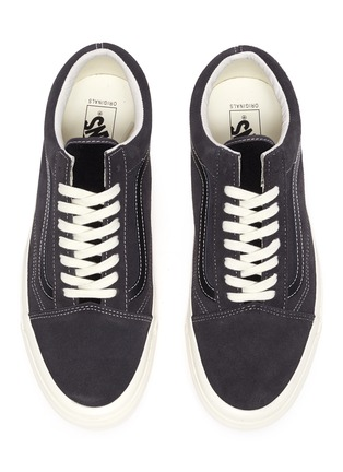 Detail View - Click To Enlarge - VANS - 'OG Old Skool LX' suede leather sneakers