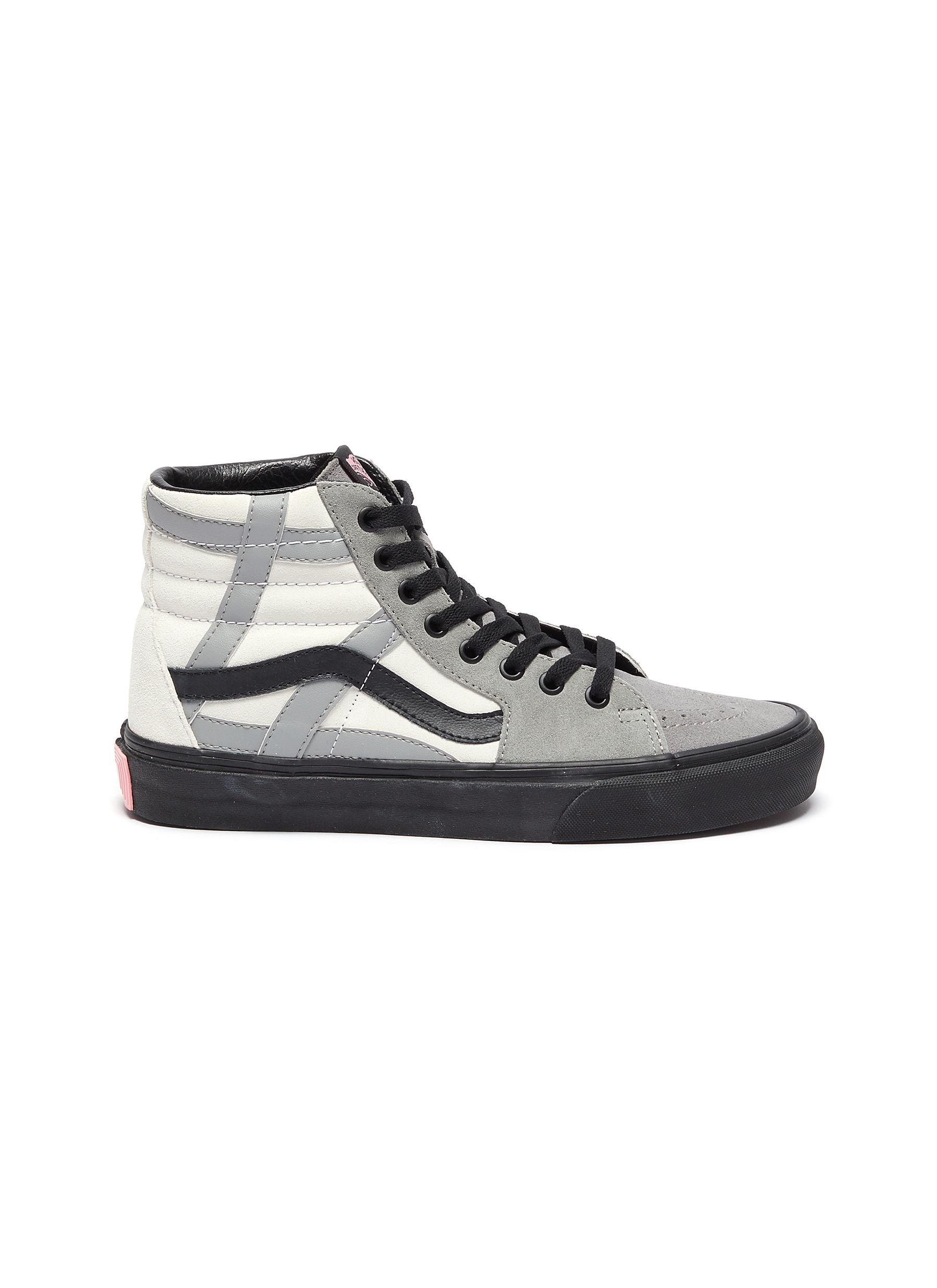 Vans Sneakers Sk8-hi Colourblock high top suede sneakers