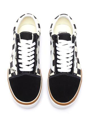 Detail View - Click To Enlarge - VANS - 'Old Skool Stacked' canvas skate sneakers