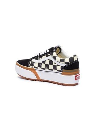 - VANS - 'Old Skool Stacked' canvas skate sneakers