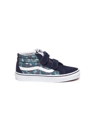 Main View - Click To Enlarge - VANS - 'SK8-Mid Reissue' skate kids sneakers