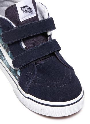 Detail View - Click To Enlarge - VANS - 'SK8-Mid Reissue' skate toddler sneakers
