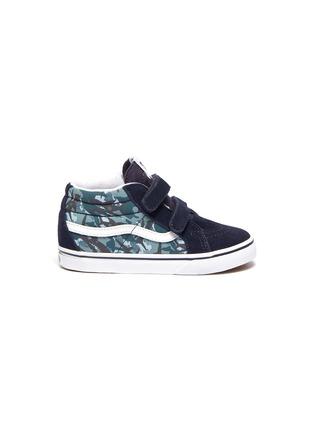 Main View - Click To Enlarge - VANS - 'SK8-Mid Reissue' skate toddler sneakers