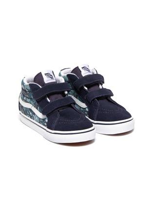Figure View - Click To Enlarge - VANS - 'SK8-Mid Reissue' skate toddler sneakers