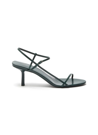 Main View - Click To Enlarge - THE ROW - 'BARE' STRAPPY LEATHER SANDALS