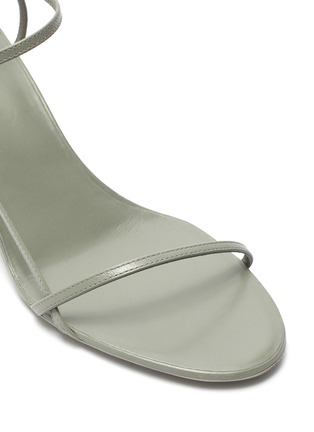 Detail View - Click To Enlarge - THE ROW - 'BARE' STRAPPY LEATHER SANDALS