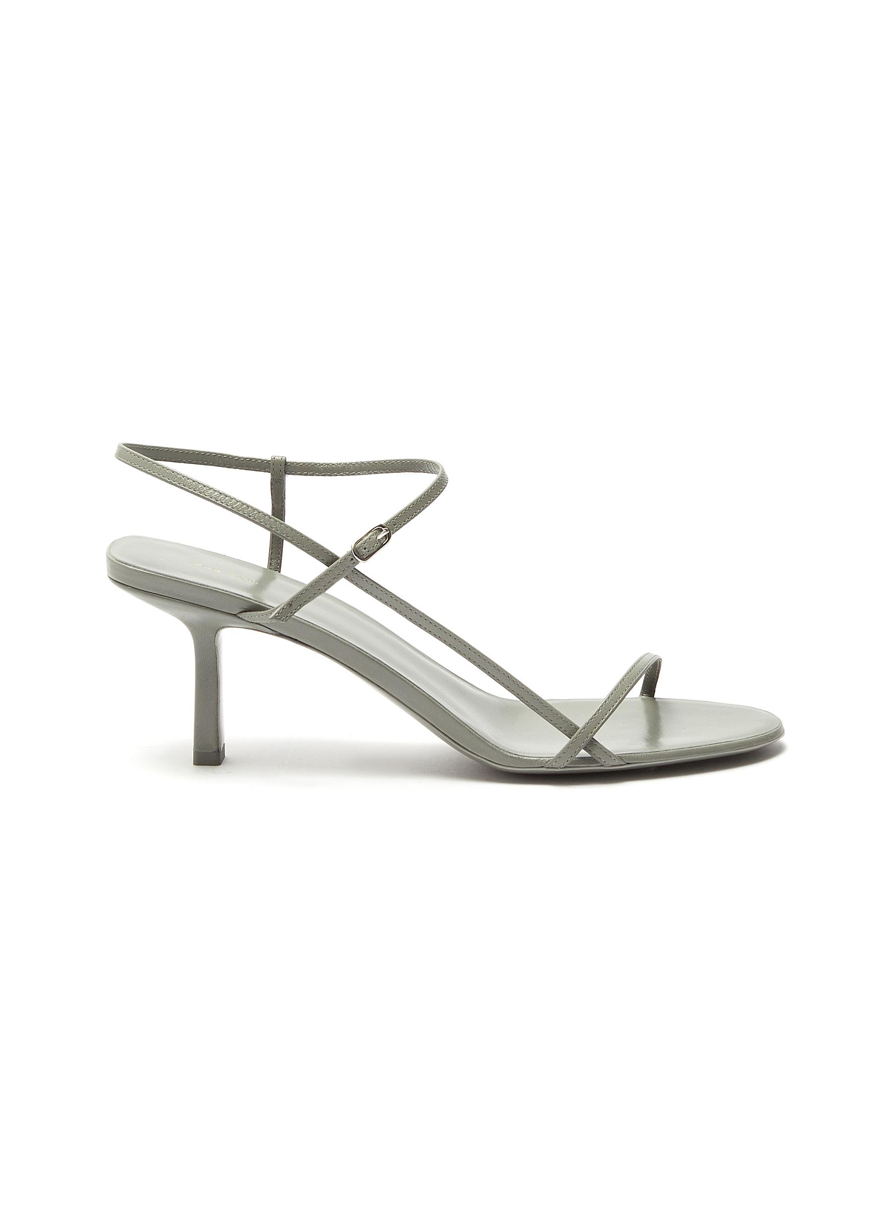 BARE' STRAPPY LEATHER SANDALS