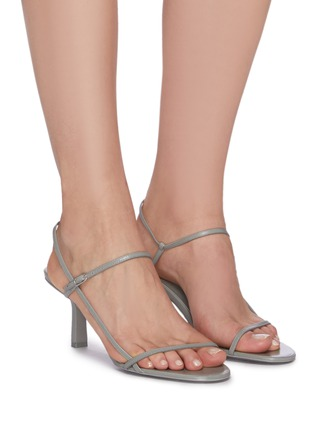 Figure View - Click To Enlarge - THE ROW - 'BARE' STRAPPY LEATHER SANDALS
