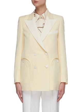 Main View - Click To Enlarge - BLAZÉ MILANO - Savannah Everyday' double breast blazer