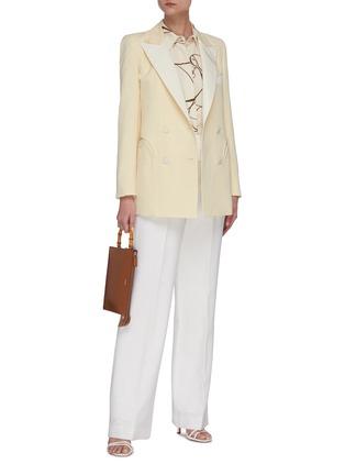 Figure View - Click To Enlarge - BLAZÉ MILANO - Savannah Everyday' double breast blazer
