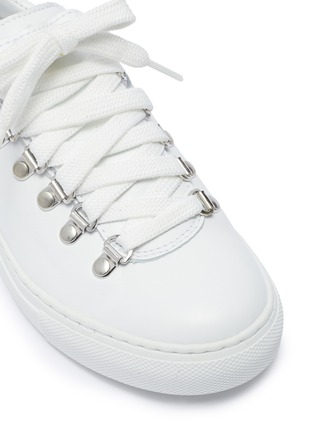 Detail View - Click To Enlarge - DIEMME - 'Marostica' low top lace up leather kids sneakers