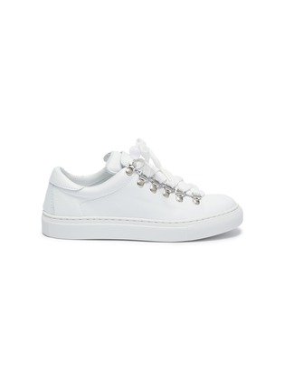 Main View - Click To Enlarge - DIEMME - 'Marostica' low top lace up leather kids sneakers