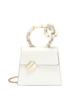 Main View - Click To Enlarge - BENEDETTA BRUZZICHES - 'Brigitta Small' knotted handle leather crossbody bag