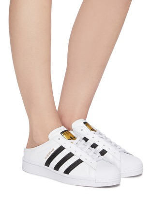 ADIDAS   Superstar Mule' lace-up