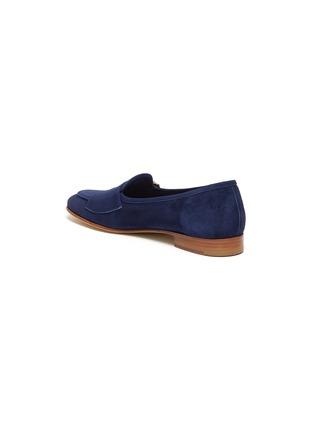 - EDHÈN - 'Brera' double monk strap suede shoes