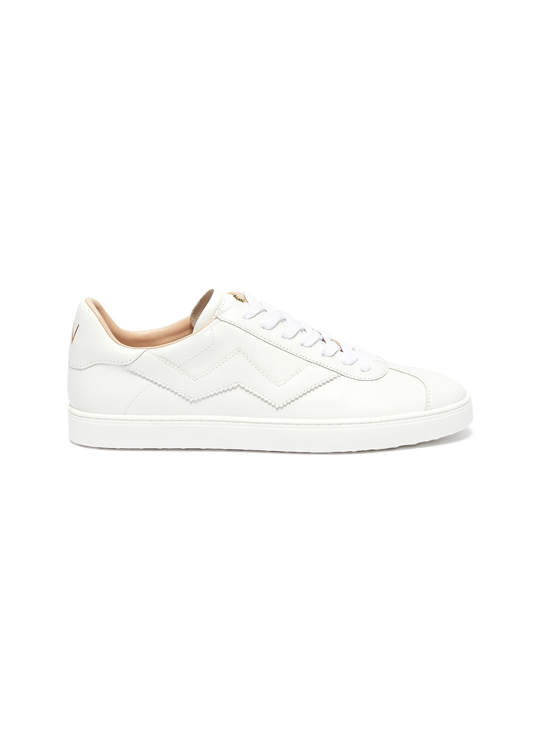 Stuart Weitzman Sneakers Daryl low top leather sneakers