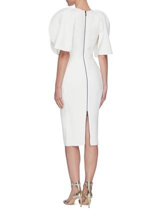 Back View - Click To Enlarge - MATICEVSKI - Vowed' plunge neckline dress