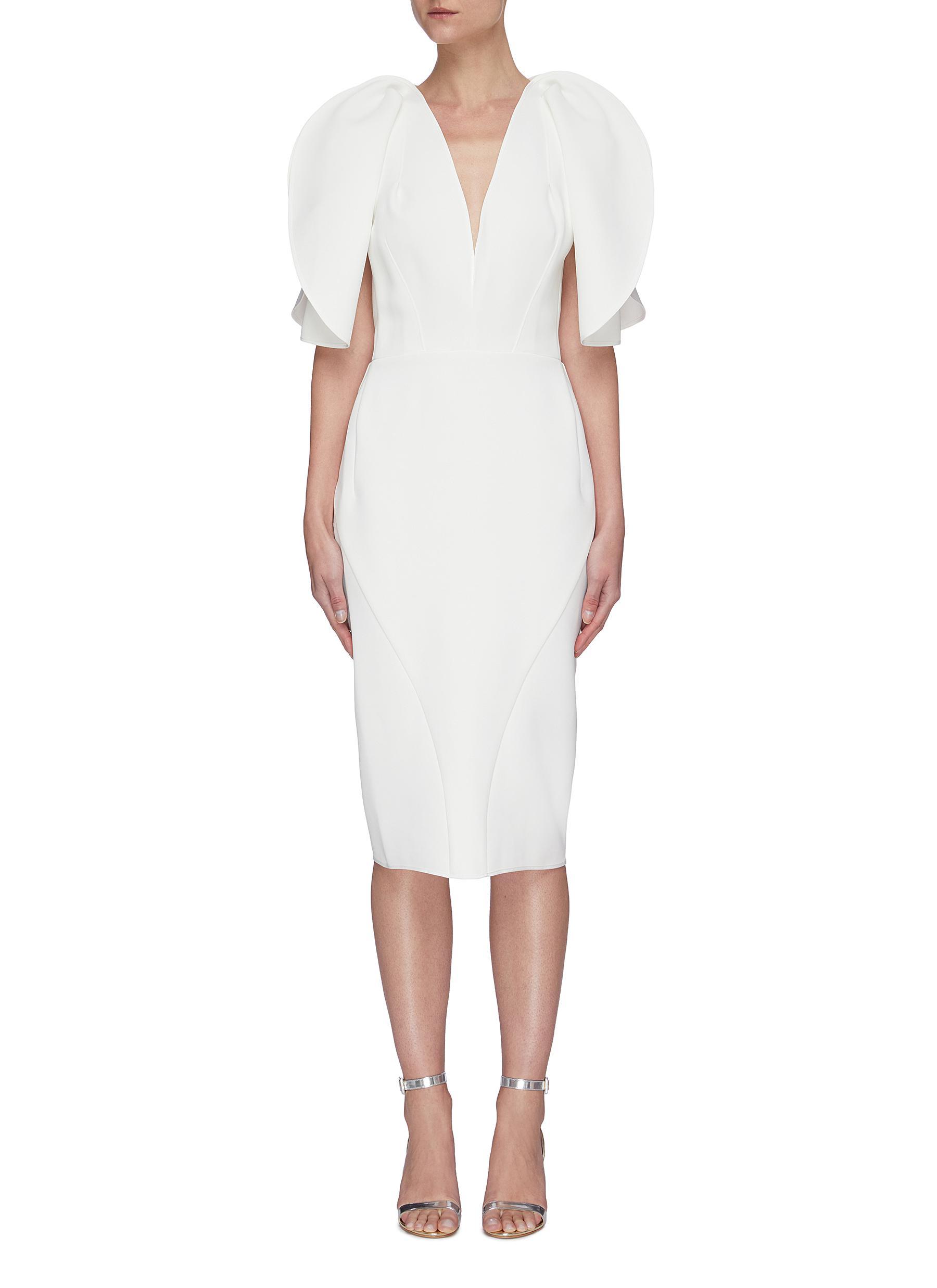 Buy Maticevski Dresses Vowed' plunge neckline dress