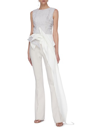 Figure View - Click To Enlarge - MATICEVSKI - Industry' flare suiting pants