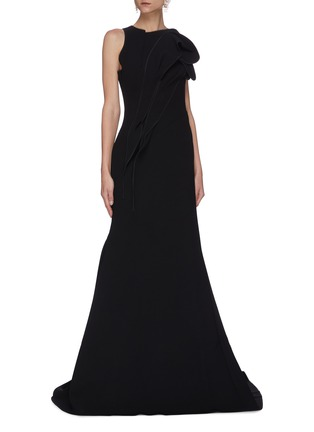 Figure View - Click To Enlarge - MATICEVSKI - Avow' sleeveless gown