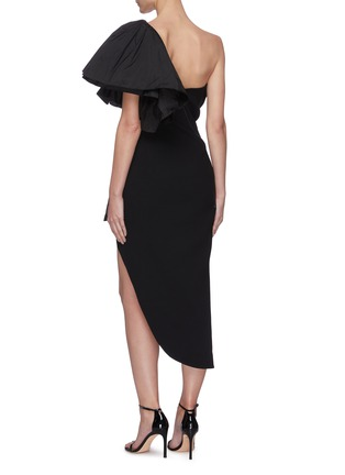 Back View - Click To Enlarge - MATICEVSKI - Attentive' ruffle dress