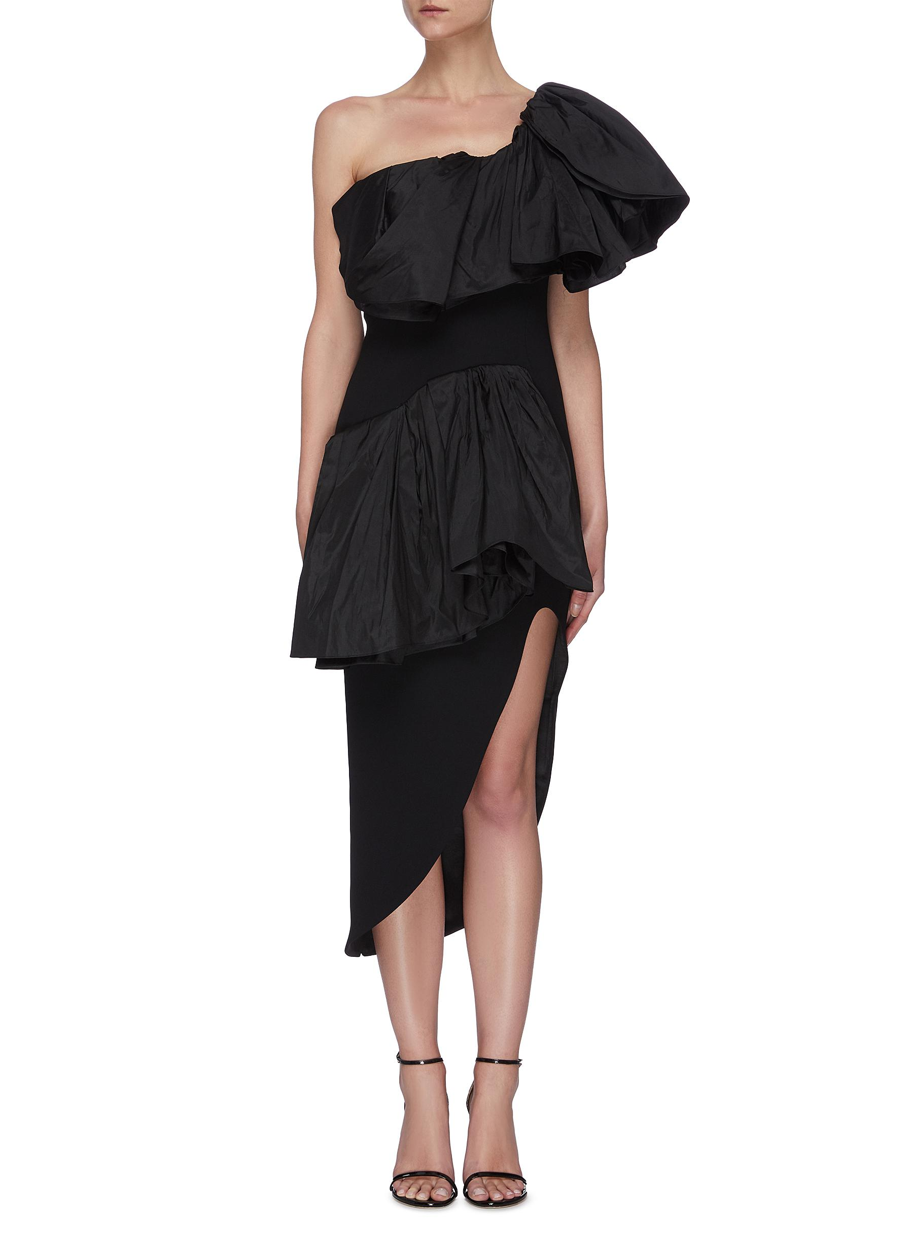 Buy Maticevski Dresses Attentive' ruffle dress