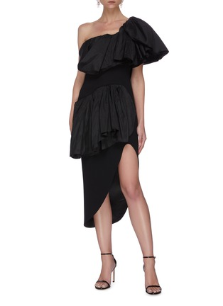 Figure View - Click To Enlarge - MATICEVSKI - Attentive' ruffle dress