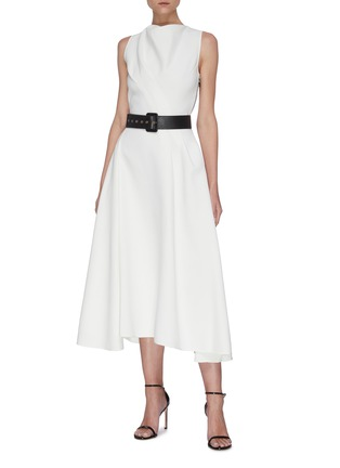 Figure View - Click To Enlarge - MATICEVSKI - Assured' Swing Dress