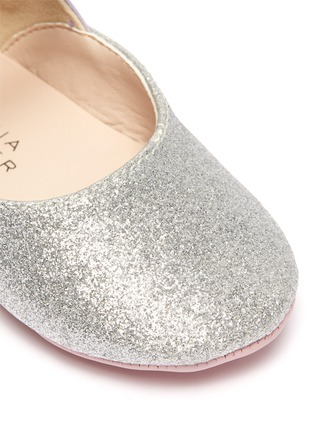 Detail View - Click To Enlarge - SOPHIA WEBSTER - 'Chiara' wings leather kids ballerina flats