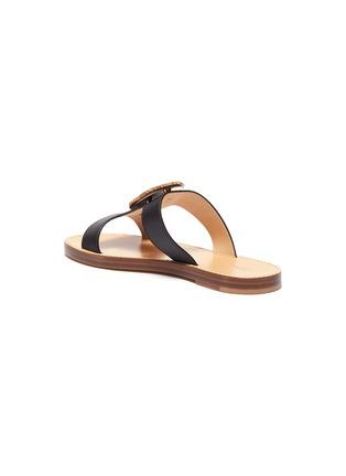 - GABRIELA HEARST - 'Hades' agate embellished leather sandals