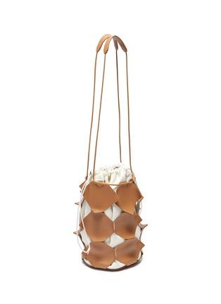Detail View - Click To Enlarge - JIL SANDER - 'Mosaic' small bucket bag