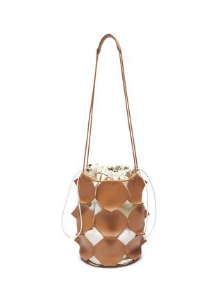 Main View - Click To Enlarge - JIL SANDER - 'Mosaic' small bucket bag