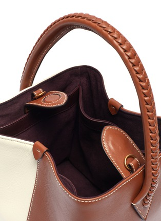 Detail View - Click To Enlarge - MÉTIER - 'Perriand' panelled leather mini tote