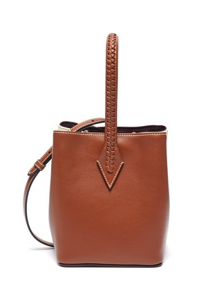 Main View - Click To Enlarge - MÉTIER - 'Perriand' panelled leather mini tote